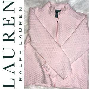 Lauren Ralph Lauren Quilted Full Zip Jacket Sz M